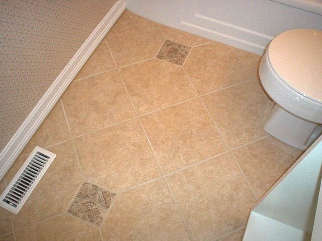 Ceramic And Porcelain Floor Tile Installation And